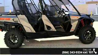 4. 2016 Can-Am Commander MAX XT 1000 Brushed Aluminum  - Rid...