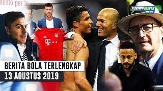 Video Ronaldo Puji Zidane 😱 Pengacara Neymar Tiba di Barcelona 🤔 Perisic RESMI Ke Bayern - Berita Bola MP3, 3GP, MP4, WEBM, AVI, FLV Agustus 2019