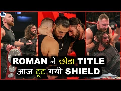 Roman Drop Universal Title ! Dean Attacks on Seth ! WWE Raw 22/10/2018 Highlights