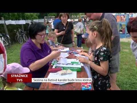 TVS: Strážnice - Sezóna na Baťově kanále bude letos klidná