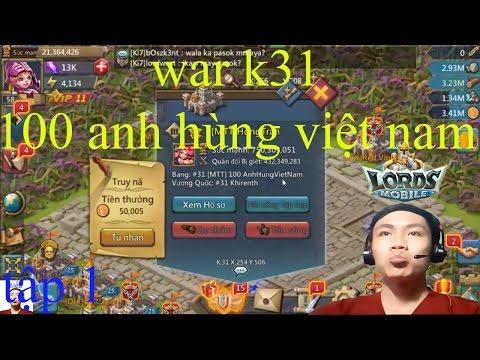 game lords mobile chiến tranh k tập