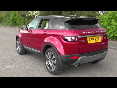 Land Rover Range Rover Evoque 5 Door Diesel 2014MY SD4 Pure 9 Speed Auto U9014