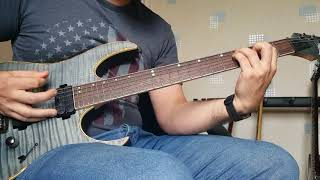 Ibanez RG721 Black Ice - Dream Theater - Pull Me Under Cover