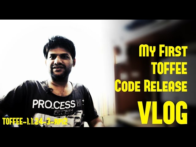 VLOG - My First TOFFEE Code Release -  TOFFEE-1.1.24-3-rpi2