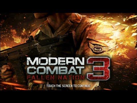 modern combat 3 fallen nation ios review