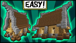 Simple & Compact Medieval House! - Minecraft Tutorial