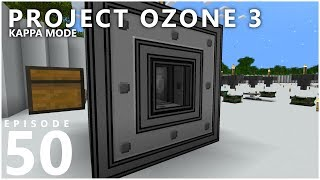 Project Ozone 3 Kappa Mode - UNDER PRESSURE [E50] (Modded Minecraft Sky Block)