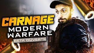 CARNAGE SUR LA BETA DE MODERN WARFARE !