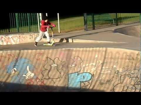 Gorey skatepark ,scooterboy casey