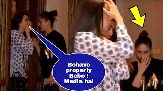Video Karisma Kapoor warns drunk Kareena Kapoor Khan to behave properly in front of media !Manish party MP3, 3GP, MP4, WEBM, AVI, FLV April 2018