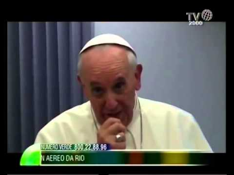 """papa francesco: """"il problema sono le lobby, anche massoniche"""""""