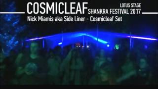 Nick Miamis aka Side Liner -  Cosmicleaf Set @ Recorded Shankra Festival 2017