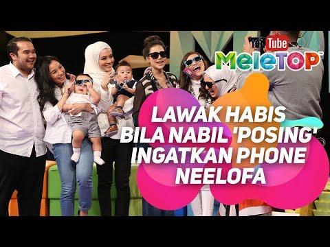 Lawak habis bila Nabil 'posing' ingatkan phone Neelofa I Calon Top 5 AME 2018