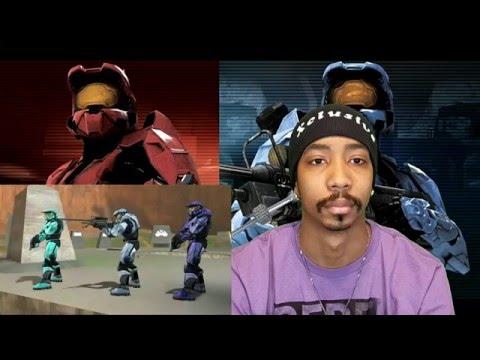 Red vs. Blue Season 1 Episodes 3, 4, 5 -  Reaction