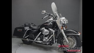 10. 2005  HARLEY DAVIDSON  FLHRI ROAD KING  - National Powersports Distributors