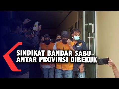 Dua Sindikat Bandar Sabu Dibekuk