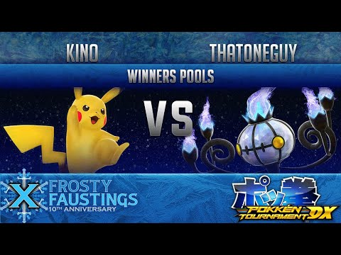 FFX - POKKEN DX WINNERS POOLS - Elevate | Kino (Pikachu) vs PBRC | That0neGuy (Chandelure)