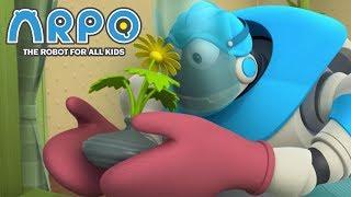 Video ARPO The Robot For All Kids - DANGER!   Compilation   Cartoon for Kids MP3, 3GP, MP4, WEBM, AVI, FLV Maret 2019
