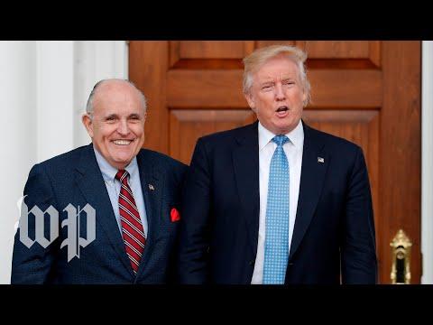 Giuliani's history of defending Trump