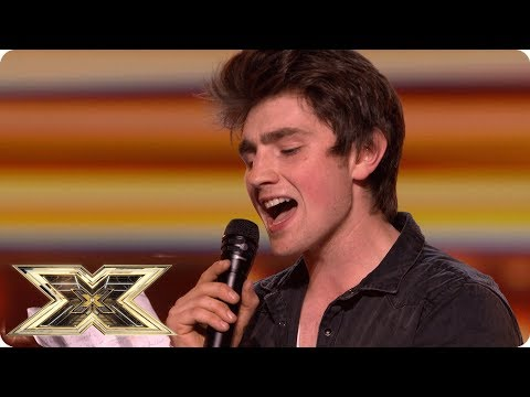 Brendan wows the crowds with This Woman's Work | Auditions Week 1 | The X Factor UK 2018