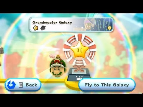 Super Mario Galaxy 2 - Grandmaster Galaxy (Final Level)