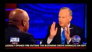 """Bill O'Reilly vs Tavis Smiley on Race, Obama, and """"White Privilege"""""""