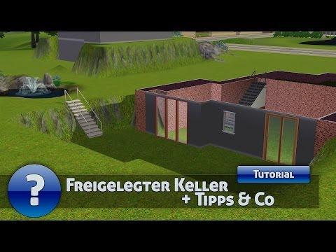 Die Sims 3 - Tutorial - Freigelegter Keller + Tipps & Co (Deutsch) [HD]