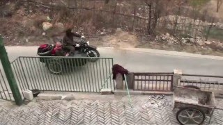 Motorbike and sidecar trip around BeiJing 北京