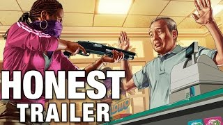 Video GRAND THEFT AUTO ONLINE (Honest Game Trailers) MP3, 3GP, MP4, WEBM, AVI, FLV Maret 2019