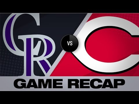 Video: Barnhart's 2 key RBI hits lift Reds to win | Rockies-Reds Game Highlights 7/28