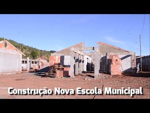 Construção da Escola Municipal na Vila Palmeirinha – Prefeitura de Cruz Machado