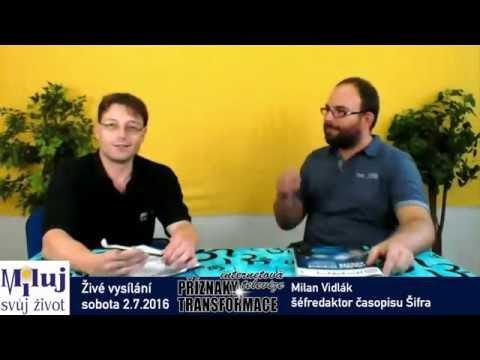 Milan Vidlák časopis Šifra - mediální manipulace a jak se jí bránit