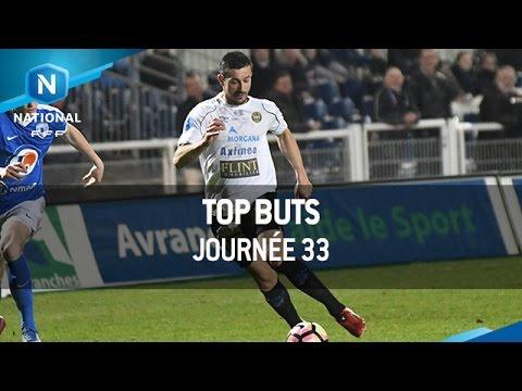 Top Buts 33éme Journée (16-17)