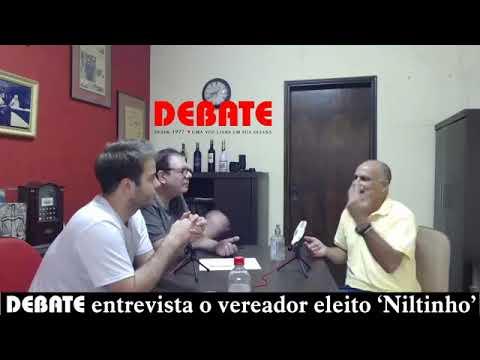 DEBATE entrevista o vereador José Nilton Fernandes