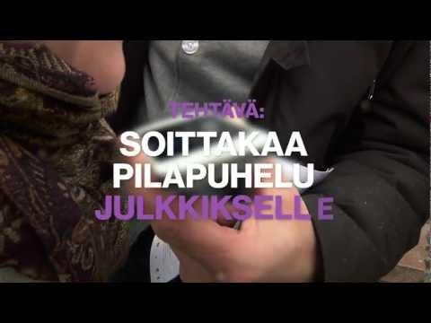 Nyt Battle 2012: Aku Hirviniemi joutui pilapuhelun uhriksi tekijä: NytBattle