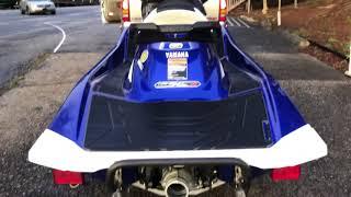 7. NEW 2018 Yamaha GP1800 takes on water