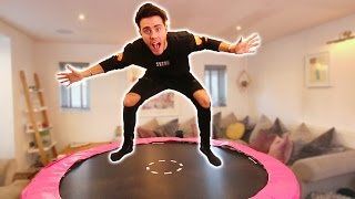 Video TURNING MY GIRLFRIENDS ROOM INTO A TRAMPOLINE PARK MP3, 3GP, MP4, WEBM, AVI, FLV Juli 2018