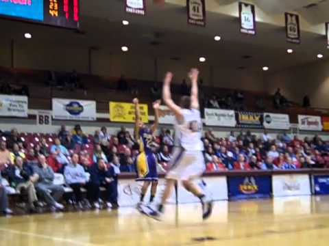 Men's Basketball vs. Ashford at Nationals, Arrington 3-Pointer, 3.9.2011