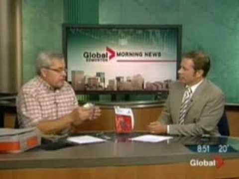 Belkin Mini Surge Protector on Global Morning News Edmonton