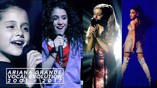 Video Ariana Grande's Vocal Evolution [ 2001 - 2017 ]   SingersAvenue MP3, 3GP, MP4, WEBM, AVI, FLV Februari 2019