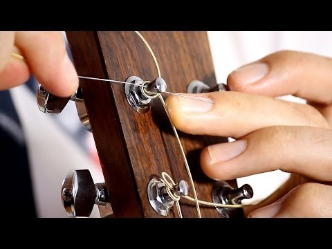 Video How to Change your Guitar Strings - Acoustic Guitar Maintenance download in MP3, 3GP, MP4, WEBM, AVI, FLV January 2017