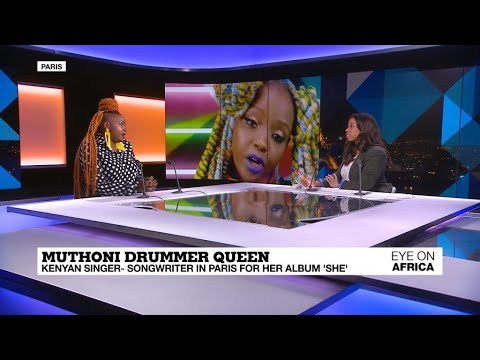 Kenya-based Muthoni Drummer Queen In Paris For Her Album 'she'