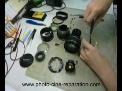 comment reparer le zoom d'un appareil photo