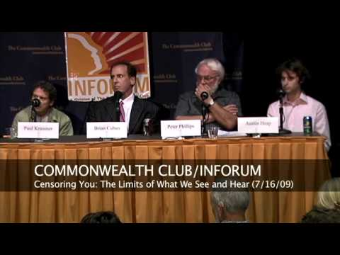 Censoring You: The Limits of What We See and Hear (7/16/09)