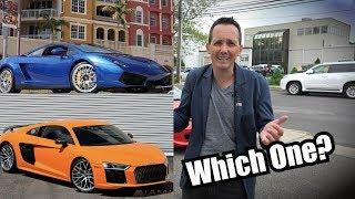Should I buy a 2013 Gallardo or a 2017 R8? by Super Speeders