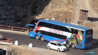 Video BUSES PERU - carretera central - CCGUILE BUSES  2018 MP3, 3GP, MP4, WEBM, AVI, FLV April 2019