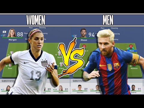 BEST WOMEN XI VS BEST MEN XI - FIFA 19 Experiment - DISGUSTING FORFEIT