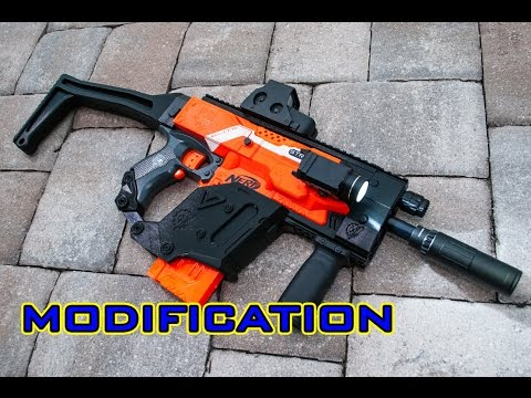 [MOD] Nerf Stryfe | KRISS Vector 3D Printed Kit!