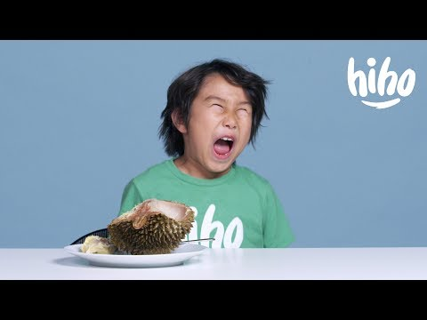 Kids Try Strange Exotic Fruits for the First Time