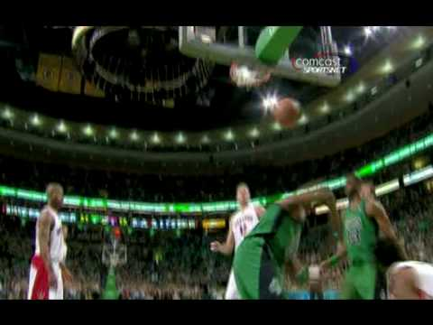paul pierce dunk on chris bosh. Paul Pierce posterizes Chris